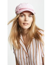 Hat Attack - Emmy Newsboy Cap - Lyst