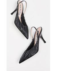 e4a1138c3bc86d MICHAEL Michael Kors Beatrice Leather Platform Sandals in Brown - Lyst