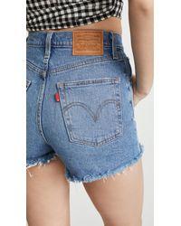 Levi's Ribcage Shorts - Blue