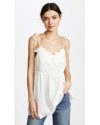 See By Chloé - Embellished Top - Lyst