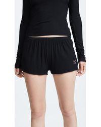 Les Girls, Les Boys - Fine Rib Shorts - Lyst