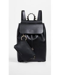 Mother Of Pearl Lola Backpack - Black