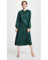 Tibi - Remi Print On Jersey Long Dress - Lyst