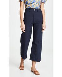 Apiece Apart Merida Trousers - Blue