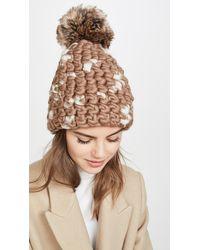Mischa Lampert Deep Beanie Hat - Brown
