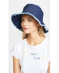 Hat Attack - Frayed Edge Crusher Hat - Lyst