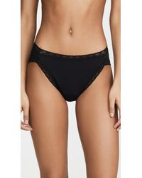 Natori - Bliss Cotton French Cut Bikini Briefs - Lyst