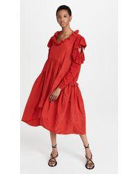 Preen By Thornton Bregazzi Erna Dress - Red