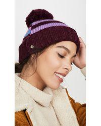 Kate Spade Heritage Stripe Beanie Hat - Multicolour