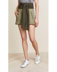3.1 Phillip Lim | Shorts With Tie | Lyst