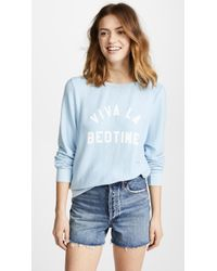 Wildfox - Viva La Bedtime Sweatshirt - Lyst