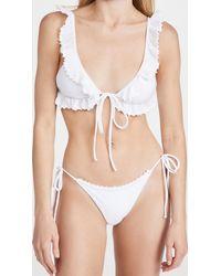 CAPITTANA Ginger Bikini Set - White