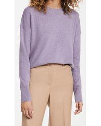 Theory Karenia Cashmere Pullover - Purple
