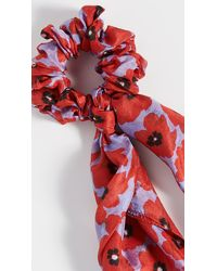 Chan Luu Neckerchief Scrunchie - Red