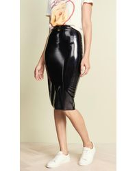 Commando - Perfect Patent Midi Skirt - Lyst