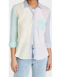 Rails Charli Button Down Top - Multicolour