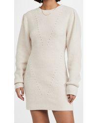 Endless Rose Sweater Mini Dress - Natural