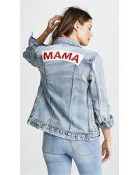 Ingrid & Isabel - Mama Denim Jacket - Lyst