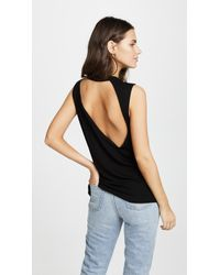 LNA - Harley Ribbed Top - Lyst