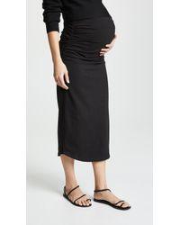 Monrow - Maternity Skirt - Lyst