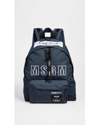 MSGM - X Eastpak Backpack - Lyst