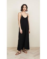 9seed Tulum Cover Up - Black