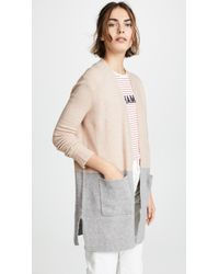 Madewell - Colorblock Kent Cardigan - Lyst