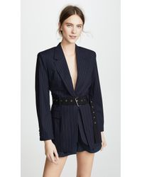 3.1 Phillip Lim - Tailored Jacket With Deconstructed Waist - Lyst