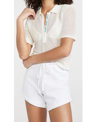 Solid & Striped The Leigh Polo Shirt - White