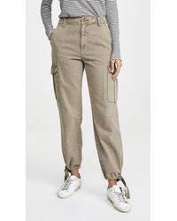 Rag & Bone Super High Rise Cargo Trousers - Multicolour