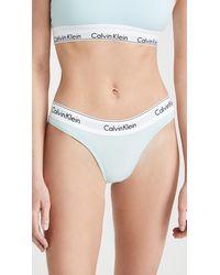 Calvin Klein Modern Cotton Brazilian Briefs - Blue