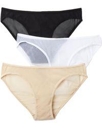 Cosabella - Soire Bikini 3 Pack - Lyst