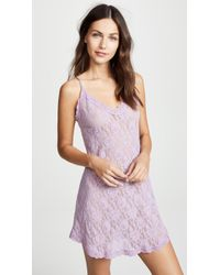 Hanky Panky - Signature Lace V Front Chemise - Lyst