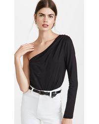 Cami NYC Andrea Jersey Bodysuit - Black