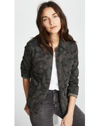 James Perse - Military Jacket - Lyst