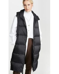 Theory Puffer Vest - Black