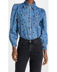 Stella Nova Reeta Shirt - Blue