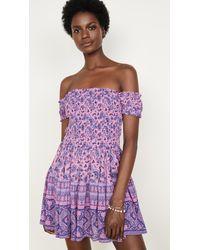 Spell & The Gypsy Collective Journey Rara Mini Dress - Purple