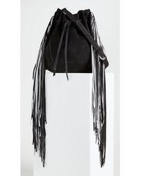 Isabel Marant Oskaf Bucket Bag - Black