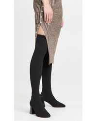 Neous Lepus Over The Knee 70mm Boots - Black