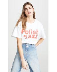 MISBHV Polish Jazz Tee - White