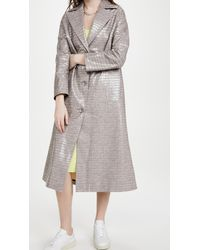 Stand Studio Mollie Coat - Gray