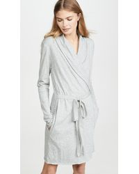 Skin Wrap Robe - Gray