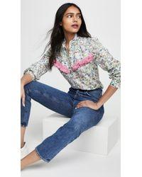 Michaela Buerger Floral Button Down Shirt - Multicolor