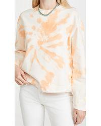 Scotch & Soda Tie Dye Sweatshirt - Multicolour