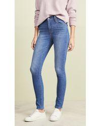 Levi's 721 High Rise Skinny Jeans - Blue