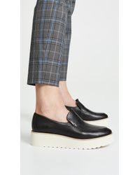 4aefe1c4acb Vince Dorsey Platform Loafers - Lyst