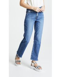 Nobody Denim - The Arlo Relaxed Straight Leg Jeans - Lyst