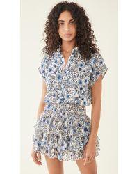 MISA Los Angles Eloisa Dress - Blue