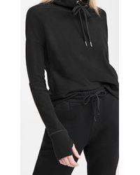 Sweaty Betty Harmonize Luxe Fleece Sweatshirt - Black